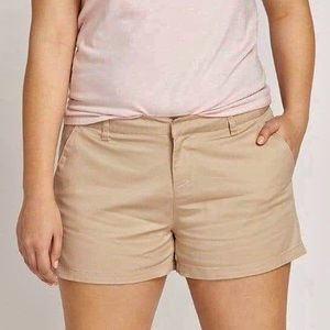 New Volcom Frochickie Tan Trouser Chino Shorts